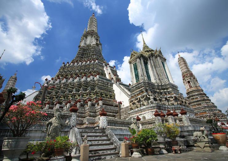 Le temple du Wat Arun à Bangkok