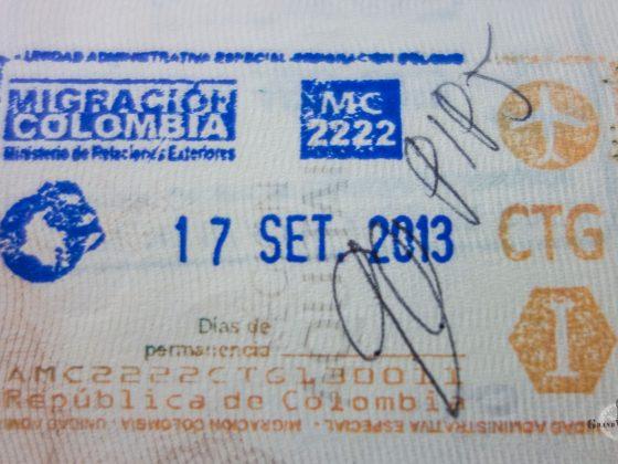 Visa Colombie