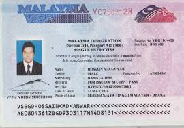 visa malaisie