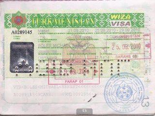 visa turkmenistan