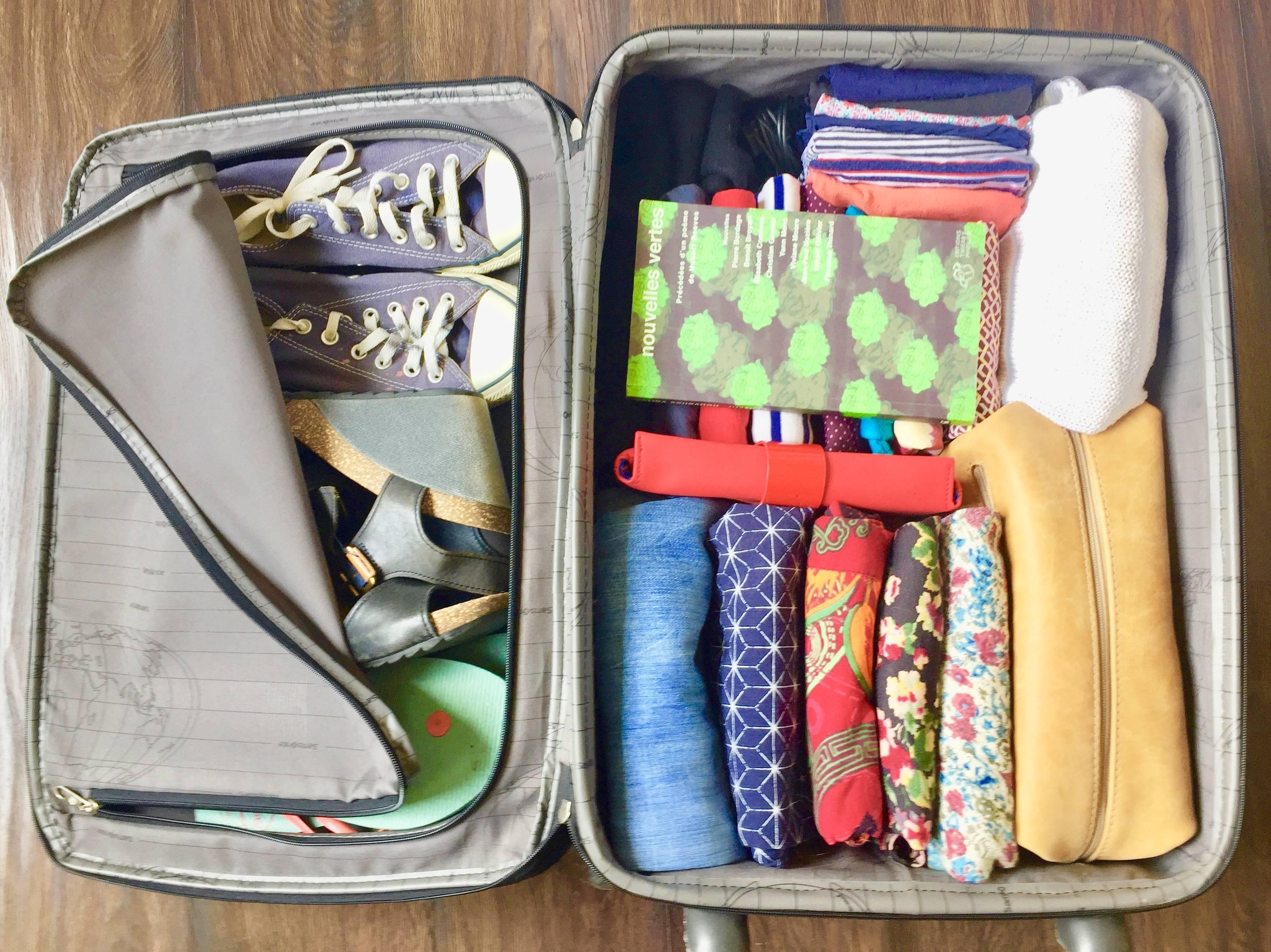 faire valise avant partir voyage