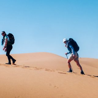 trek désert équipements